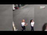 Девушка-пилот круто танцует
