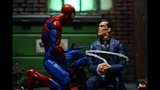 Hasbro Marvel Legends Spdr BAF wave HOUSE OF M SPIDER-MAN Action Figures Review