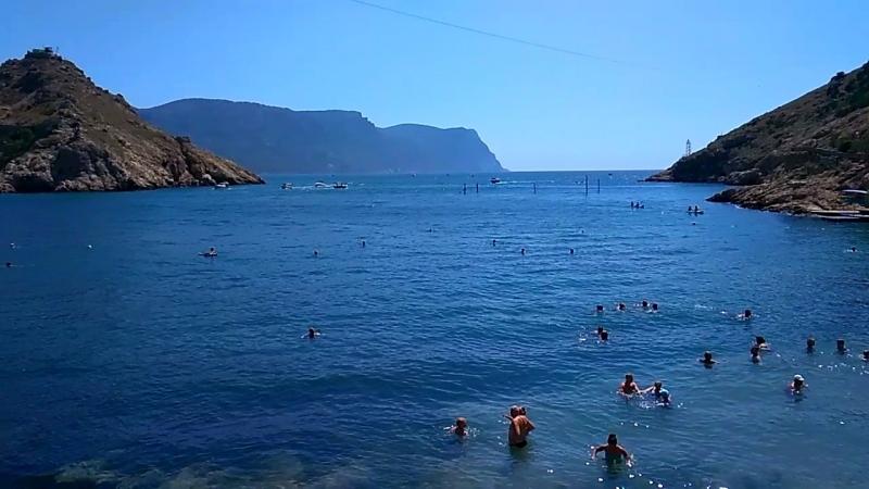 Балаклавская бухта пляж
