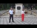Артур Рубенян и Виктория Андрющенко Букет из белых роз