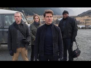 Неудачный трюк Тома Круза на съёмках фильма «Миссия: невыполнима 6»