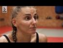 Александра Албу. Боец UFC