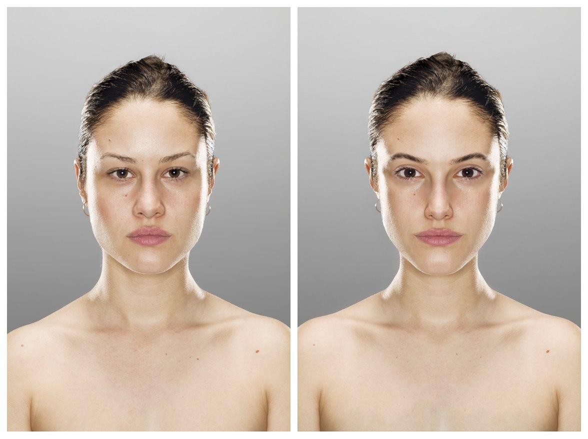 Как на фото сделать человека старше