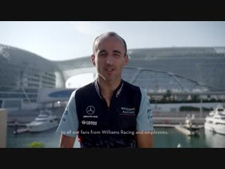 Merry christmas and a happy new year from robert kubica