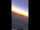 ФРАНЦИЯ Пассажир записал странный объект двигавшийся по небу над Парижем 14 oct 2018
