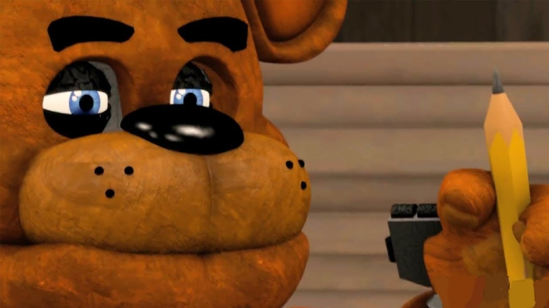 [FNAF SFM] Five Nights at Freddy's Funny Animations (Funny FNAF Try NOT To Laugh)