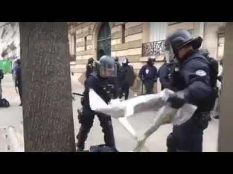 Pays des libertés,des droits de l'homme NON,vous êtes en France