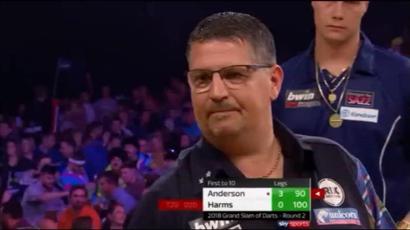 2018 Grand Slam of Darts Round 2 Anderson vs Harms