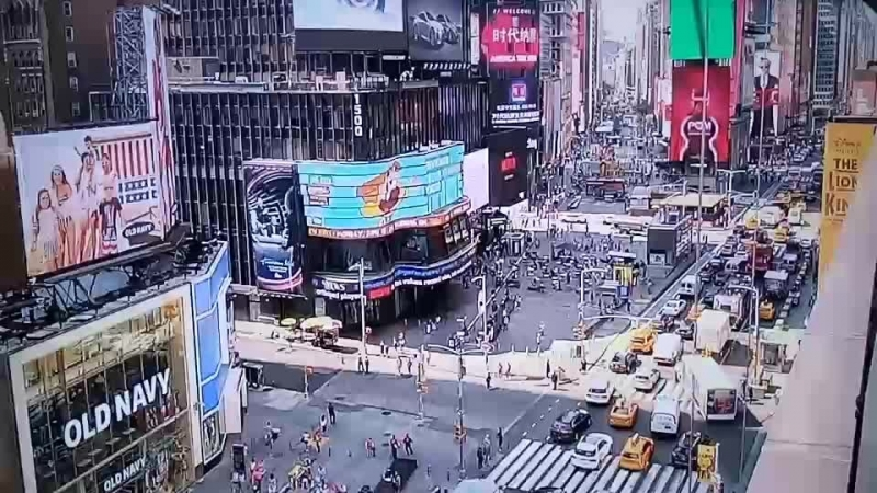 LIVE CAM Time s square crossroads new york City