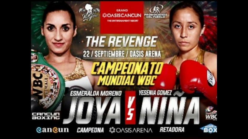 Эсмеральда Морено vs Есения Гомес Esmeralda Moreno vs Yesenia Gomez 22 09 2018