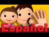 La familia dedo Canciones infantiles LittleBabyBum