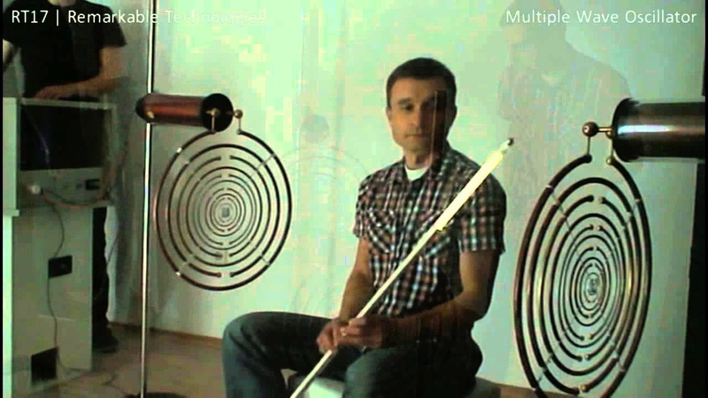 Lakhovsky's Multiple Wave Oscillator Functional replica