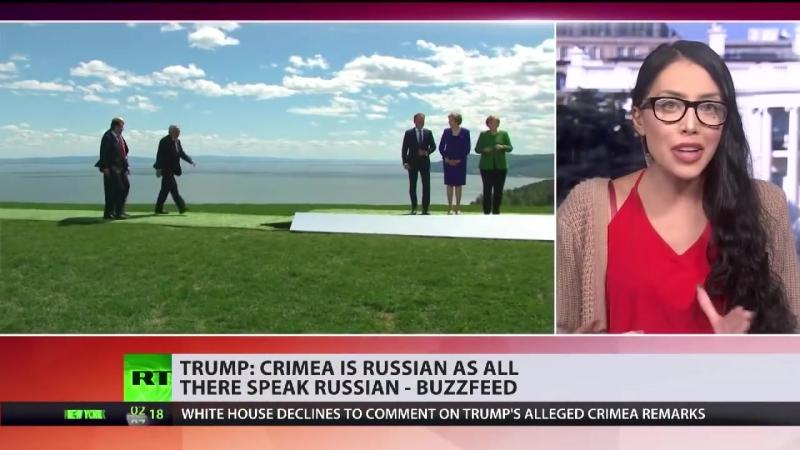 US-Präsident Trump- Die Krim ist russisch