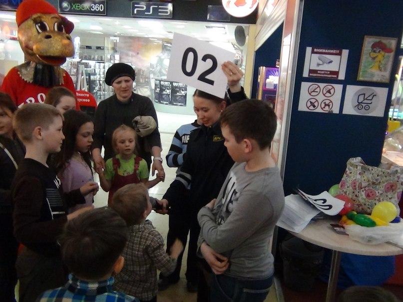 Конкурс для детей на знание ПДД прошел в Нижнекамске