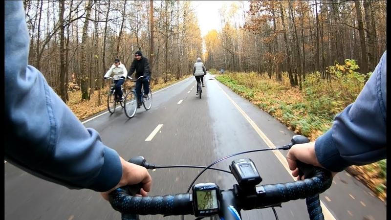 Осень, велосипед, Лосиный остров, Бумажная просека