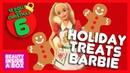 Holiday Treats Barbie - 12 Dolls of Christmas - Beauty Inside A Box
