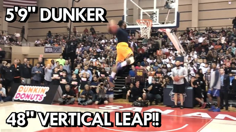 59 Dunker with a 48 Inch VERTICAL - Deshaun Patterson - UNSEEN DUNK FOOTAGE