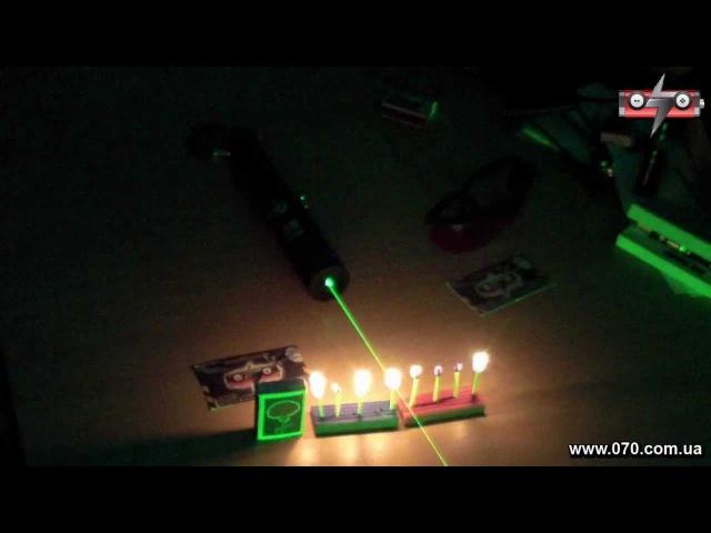 Мощный зеленая лазерная указка BOB Laser BGP-0018 600mW, фокусируемый