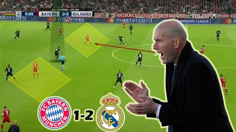 How Zidane Rescued Madrid | Bayern Munich vs Real Madrid 1-2 | Tactical Analysis