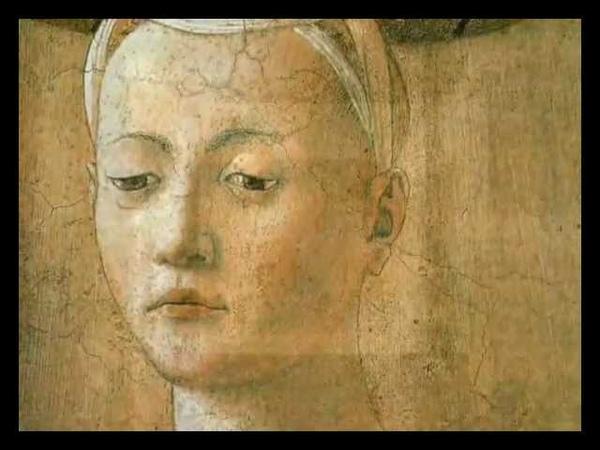 PIERO DELLA FRANCESCA: La Madonna del parto