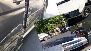 ДТП ВАЗ 2108 протаранил Mercedes Benz Vito.