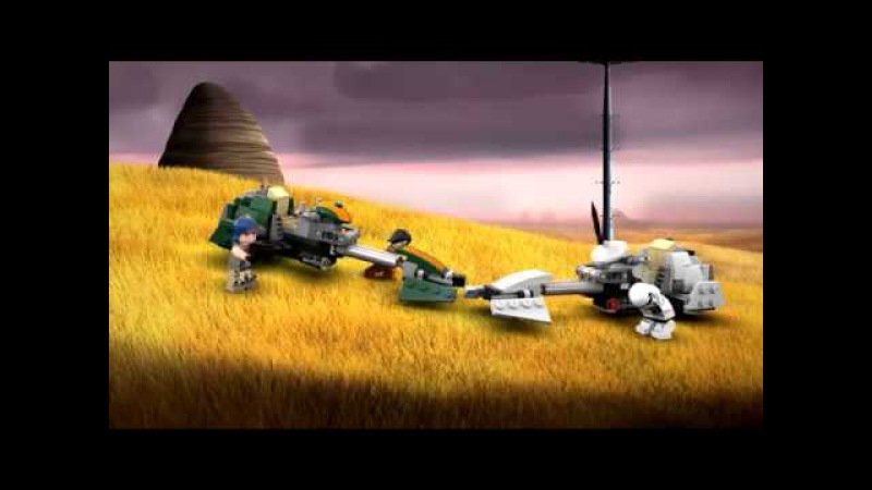 Lego Star Wars 75090 Лего Звездные Войны Скоростной спидер Эзры Бриджера