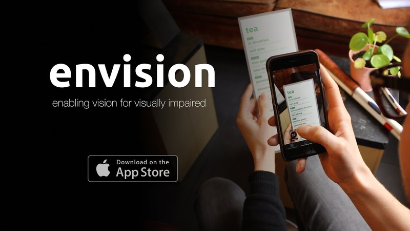Envision - enabling vision for visually impaired.
