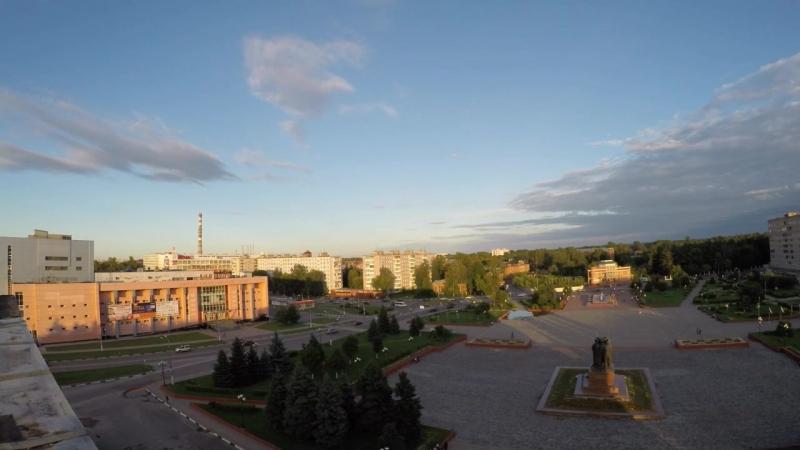 Time Lapse с крыши администрации г.о. Орехово-Зуево!