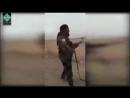 Kurdische MILIZ schießen mit einer MG einen unbewaffneten Menschen tot Bereiten Sie sich auf BÜRGERKRIEGE vor FSK 18