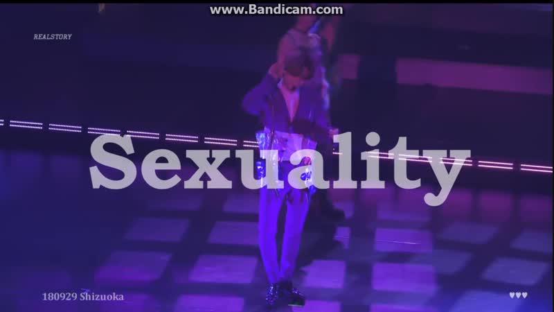 180929 TAEMIN Japan 1st TOUR ~SIRIUS~- Sexuality
