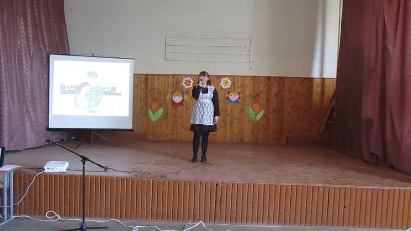 Поёт Васильева Даша, уч-ся 10 класса...