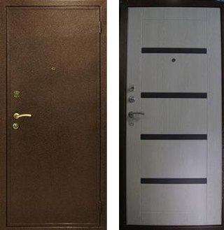железная входная дверь с установкой электросталь