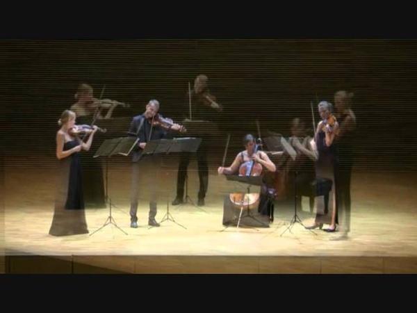 Karol Szymanowski - String Quartet no. 1 in C major, op.37 (Diverso String Quartet)