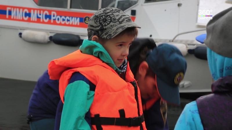 Школьники Заозерья учились безопасности на воде