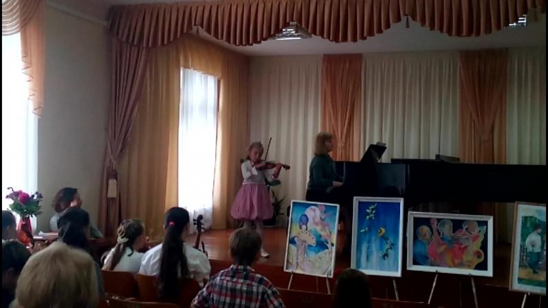 Академ-концерт. 2-класс, 10 балов. Катя