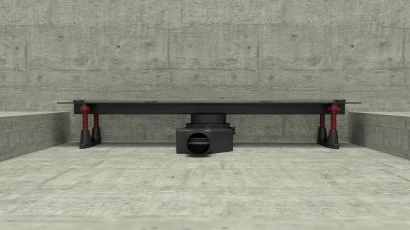 Pestan Confluo Premium Slim Line Drain Installation