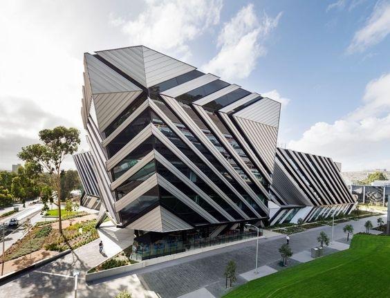 Архитектура университета Monash для будущего производственного исследований, обучения и коммерциализации.