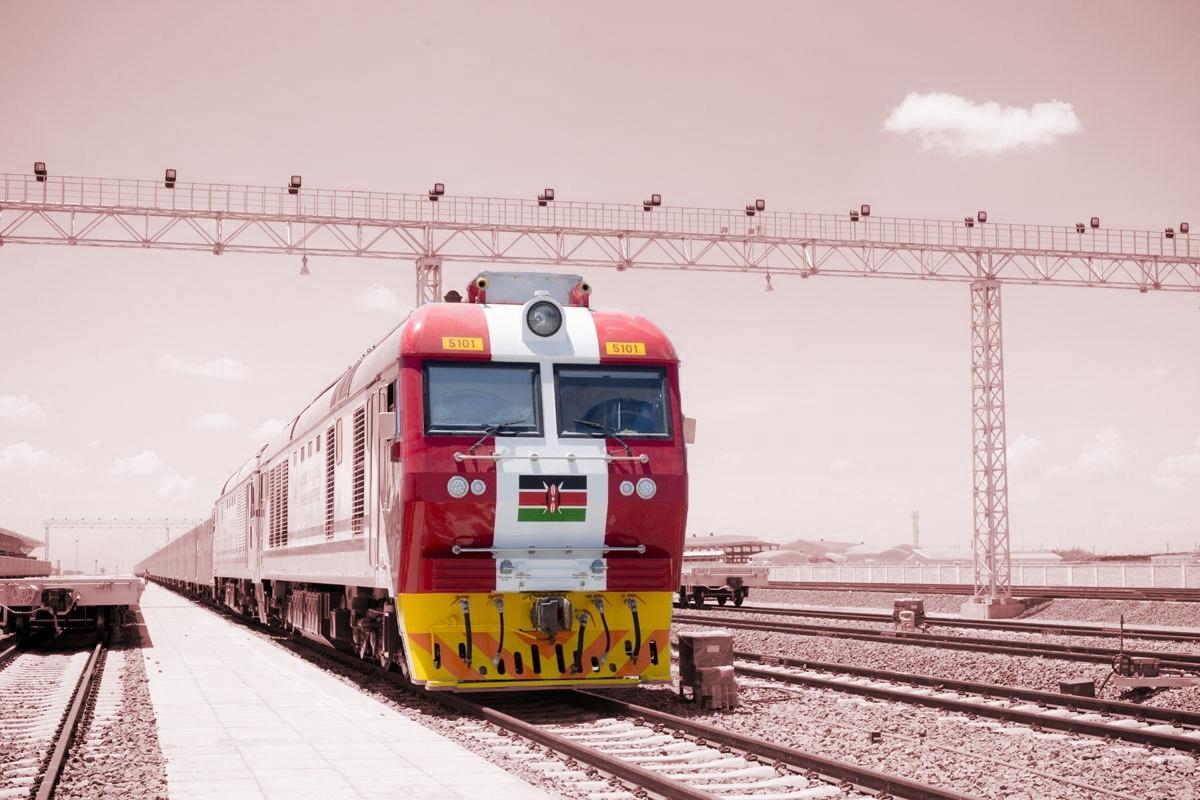Железная дорога в Кении