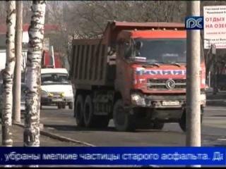 Асфальтовый завод заработал в Вологде