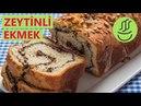 YOĞURMADAN ÇOK KOLAY Zeytinli Ekmek Nasıl Yapılır - Mayalı ve Zeytin Ezmeli Ekmek Tarifi