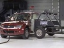 2008 Suzuki Grand Vitara side crash test - Сузуки Гранд Витара боковой краш тест 2008