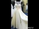 👍💤Прекрасное свадебное платье с итальянской тканью микадо, в цвете айвори, можно дополнить пояском под цвет свадьбы. Размер 42-