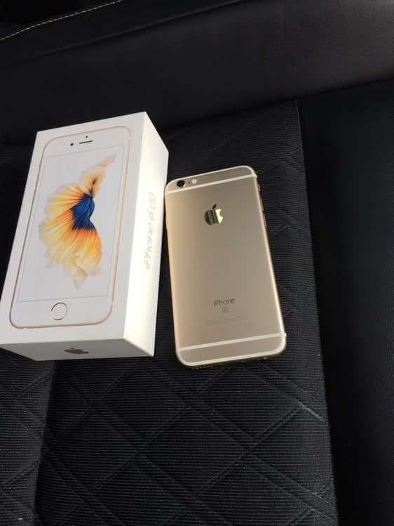 iPhone 6s на 16 золотого цвета. Внешне и | Объявления Орска и Новотроицка №7239