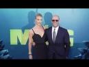 Рози и Джейсон на премьере фильма «Мег Монстр глубины» в Голливуде, США 6 августа 2018