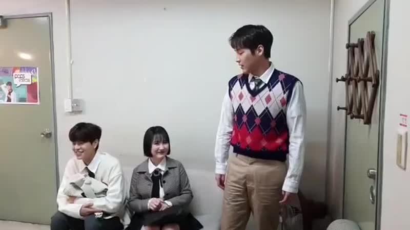 [фейсбук] 181113 Сынмин, Пак Джимин (15) и Хиджун @ After School Club