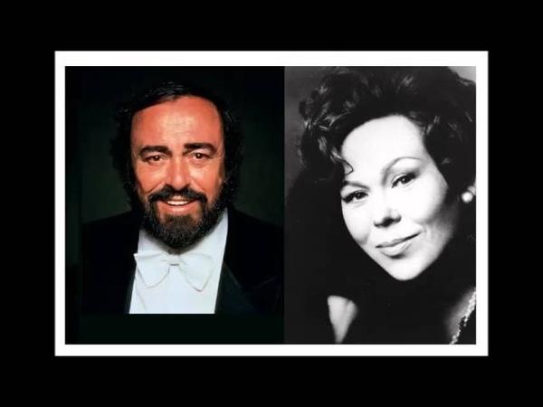 Renata Scotto Luciano Pavarotti. Un di felice. La Traviata.