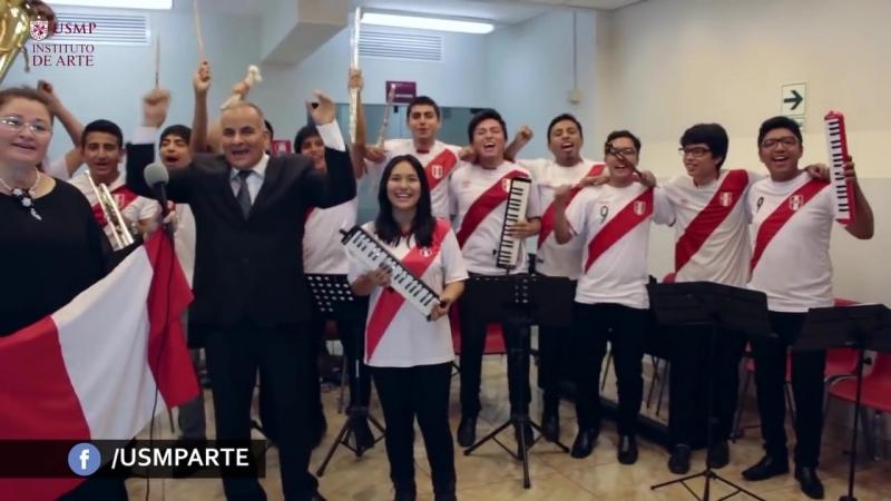 Himno Nacional del Perú en ruso Mundial Rusia 2018 /Национальный гимн Перу на русском языке 2018