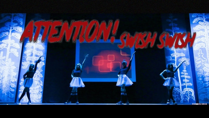 Katy Perry ft. Nicki Minaj - Swish Swish Just Dance cover by ATTENTION!