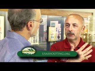 Сергей Лузов о стрельбе из спортивного пистолета, USA Shooting Team -- NSSF Shooting Sportscast