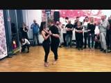 Kristofer Mencák & Fausta Accattoli - Kizomba Fusion - After Class Demo